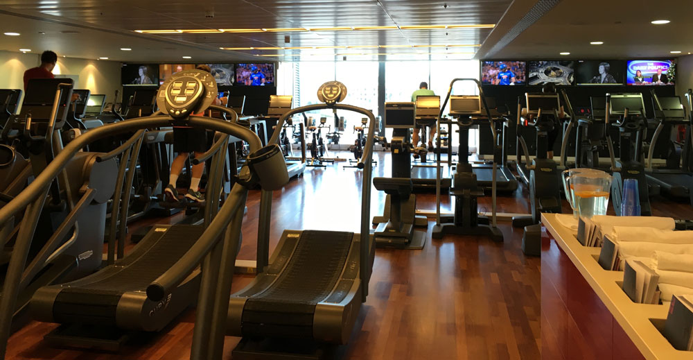 fitnessavdelning-four-season-canary-wharf